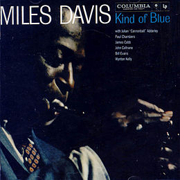 Studioalbumin Kind of Blue kansikuva