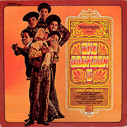 Studioalbumin Diana Ross Presents The Jackson 5 kansikuva