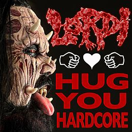 "Singlen ""Hug You Hardcore"" kansikuva"