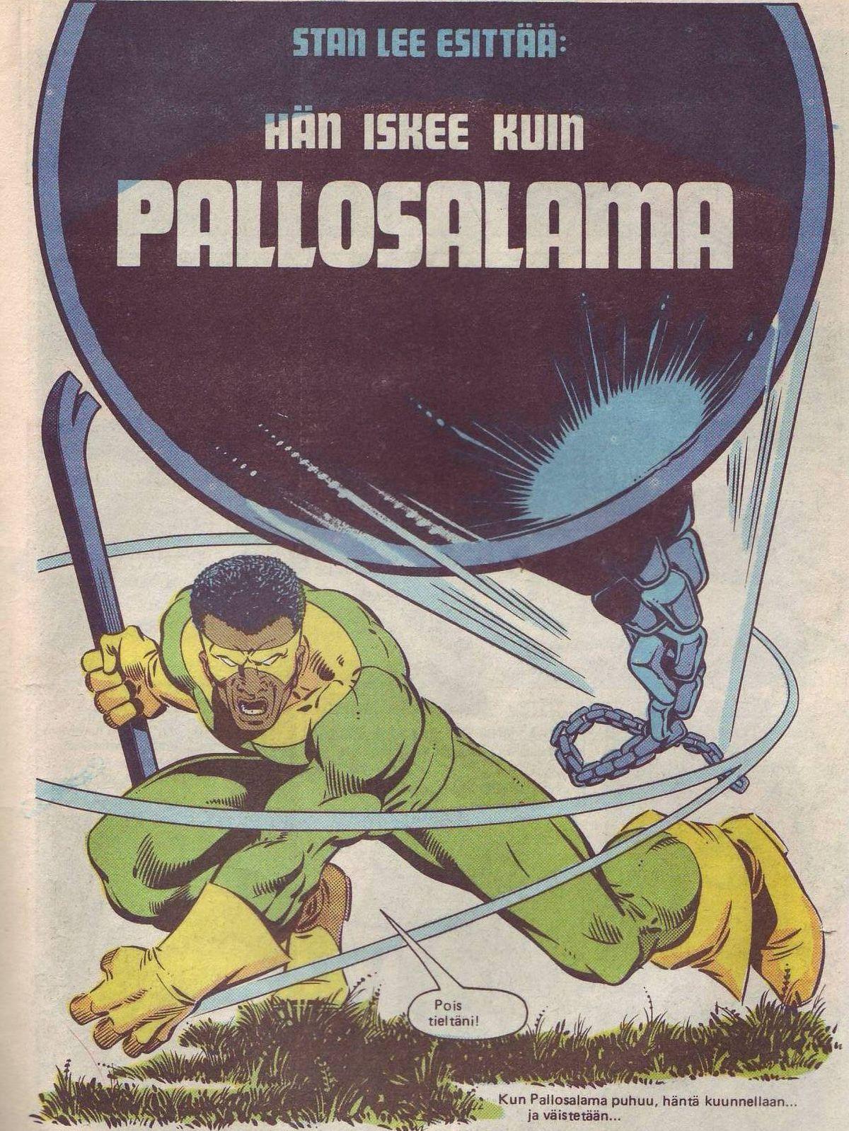 Pallosalama