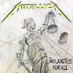 Studioalbumin ...And Justice For All kansikuva