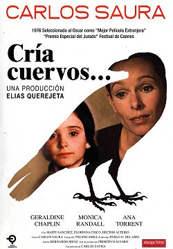 Julisteessa Ana Torrent (vas.) ja Geraldine Chaplin