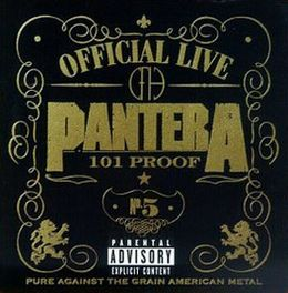 Livealbumin Official Live: 101 Proof kansikuva