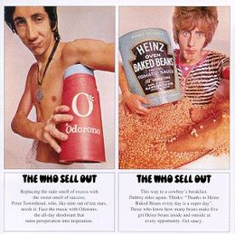 Studioalbumin The Who Sell Out kansikuva