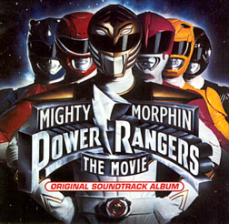 Soundtrack-albumin Mighty Morphin Power Rangers The Movie: Original Soundtrack Album kansikuva