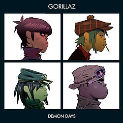 Demon Days albumin kansikuva