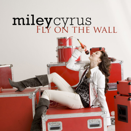 "Singlen ""Fly on the Wall"" kansikuva"