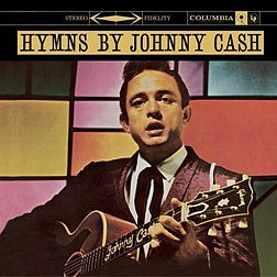 Studioalbumin Hymns by Johnny Cash kansikuva