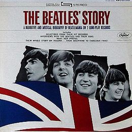 Studioalbumin The Beatles' Story kansikuva