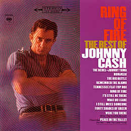 Studioalbumin Ring of Fire: The Best of Johnny Cash kansikuva