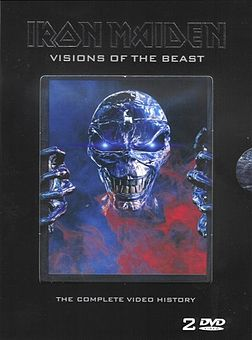 DVD:n Visions of the Beast kansikuva