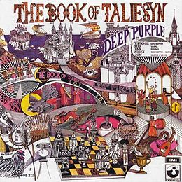 Studioalbumin The Book of Taliesyn kansikuva