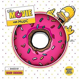Soundtrack-albumin The Simpsons Movie: The Music kansikuva