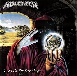 Studioalbumin Keeper of the Seven Keys part I kansikuva