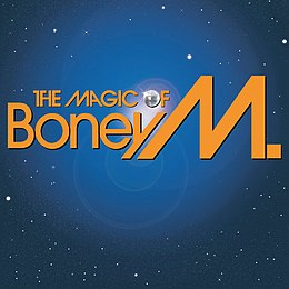 Kokoelmalevyn The Magic of Boney M. kansikuva