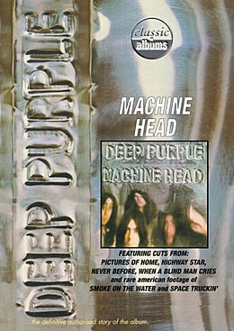 DVD-julkaisun Classic Albums: Deep Purple – Machine Head kansikuva