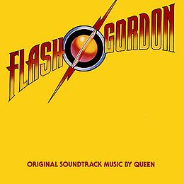 Soundtrack-albumin Flash Gordon kansikuva