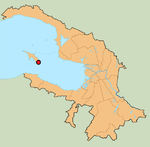 Kronstadt on the map of Saint Petersburg districts.png