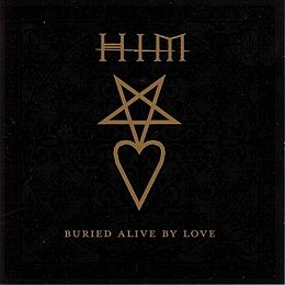 "Singlen ""Buried Alive by Love"" kansikuva"