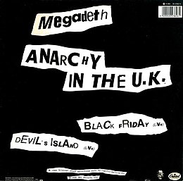 MEGADETH - ANARCHY IN THE U.K. LYRICS