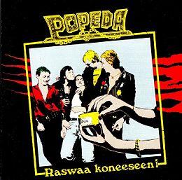 Studioalbumin Raswaa koneeseen! kansikuva