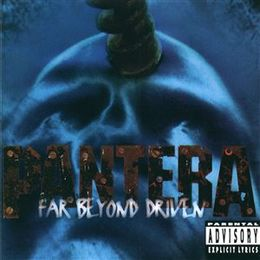 Studioalbumin Far Beyond Driven kansikuva