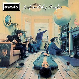 Studioalbumin Definitely Maybe kansikuva