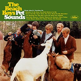 Studioalbumin Pet Sounds kansikuva