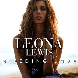 "Singlen ""Bleeding Love"" kansikuva"