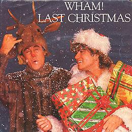 """Singlen """"Last Christmas"""" kansikuva"""