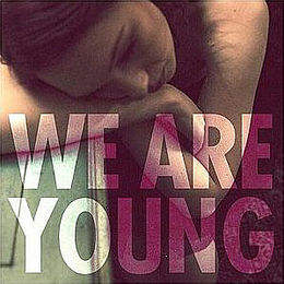 "Singlen ""We Are Young"" kansikuva"