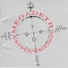 Studioalbumin Cryptic Writings kansikuva