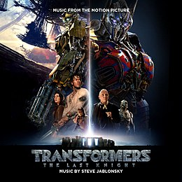 Soundtrack-albumin Transformers: The Last Knight – Music from the Motion Picture kansikuva