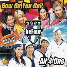 "Singlen ""How Do You Do?/All 4 One"" kansikuva"