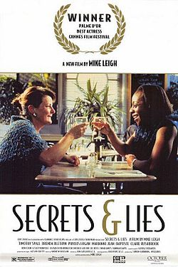 Secrets and lies -elokuvajuliste.jpg