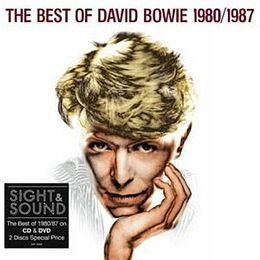Kokoelmalevyn The Best of David Bowie 1980/1987 kansikuva