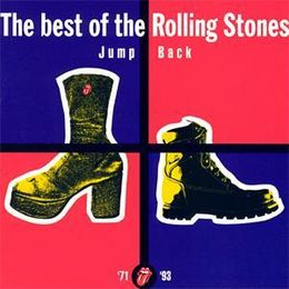Kokoelmalevyn Jump Back: The Best of The Rolling Stones 1971–1993 kansikuva