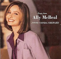 Soundtrackin Songs from Ally McBeal kansikuva