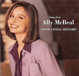 Soundtrack-albumin Songs from Ally McBeal kansikuva