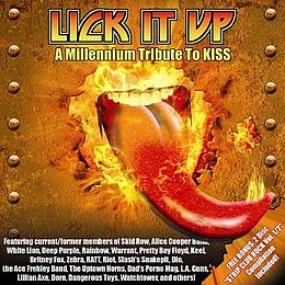 Tribuuttialbumin Lick It Up – A Millennium Tribute to Kiss kansikuva