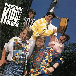 Studioalbumin New Kids on the Block kansikuva