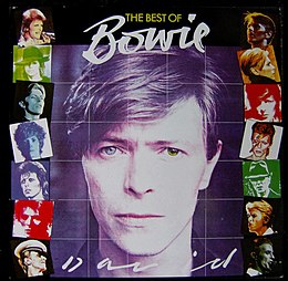 Kokoelmalevyn The Best of Bowie kansikuva