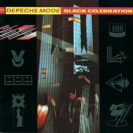 Studioalbumin Black Celebration kansikuva