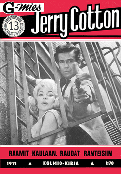 Jerry Cottonia elokuvissa esittänyt George Nader