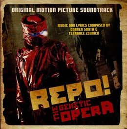 Soundtrack-albumin Repo! The Genetic Opera kansikuva