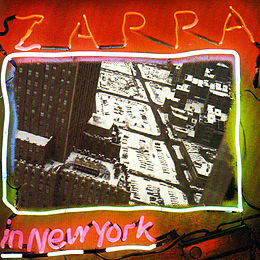 Livealbumin Zappa in New York kansikuva