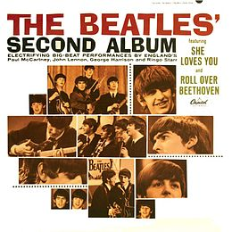 Studioalbumin The Beatles' Second Album kansikuva