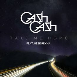 "Singlen ""Take Me Home"" kansikuva"