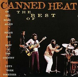 Kokoelmalevyn The Best of Canned Heat kansikuva