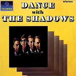Studioalbumin Dance with The Shadows kansikuva